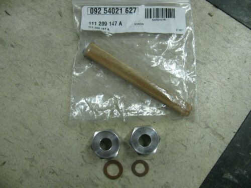 Porsche 914 fuel gas tank lower strainer aluminum nuts and sock kit