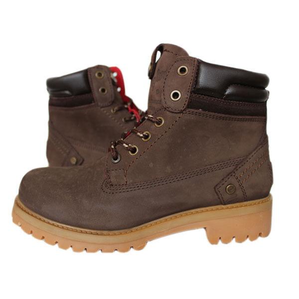 Wrangler Wrangler Wrangler Yuma greec Mujer wl112255 botas botas Talla 37-39 Piel Marrón  garantía de crédito