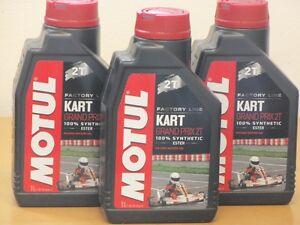 11-l-Motul-Kart-Grand-Prix-3-x-1-L-2-Taktmischol-fur-Rennkarts
