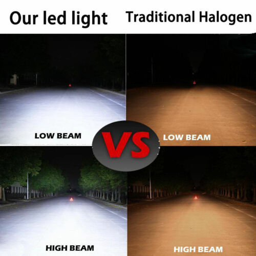 2× LED Headlight Replace Bulb For 9005 9006 9004 H4 H7 H8//H11 H13 9007 5202 9012