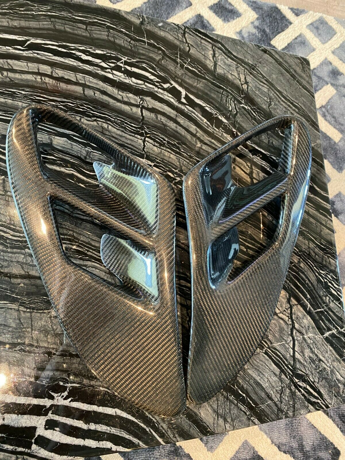 Stahlflex Bremsschläuche für Peugeot RCZ EDELSTAHL