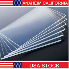 4x4 Feet 5mm Thick Clear Cast Acrylic Sheets 48 Inch Cast Plexiglass Lucite Bulk