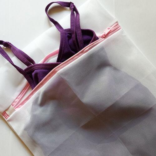 3 Sizes Underwear Aid Bra Socks Lingerie Laundry Washing Machine Net Mesh Bag BB