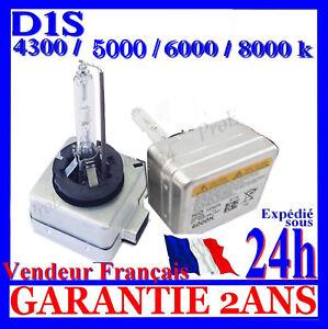 AMPOULE LAMPE FEU PHARE XENON D1S KIT HID FEUX 4300K 5000K 6000K 8000K 12V 35W