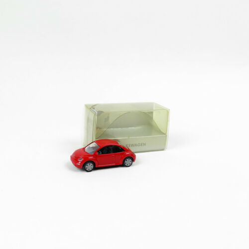 VW New Beetle in rot mit OVP 1:87 #16 Wiking