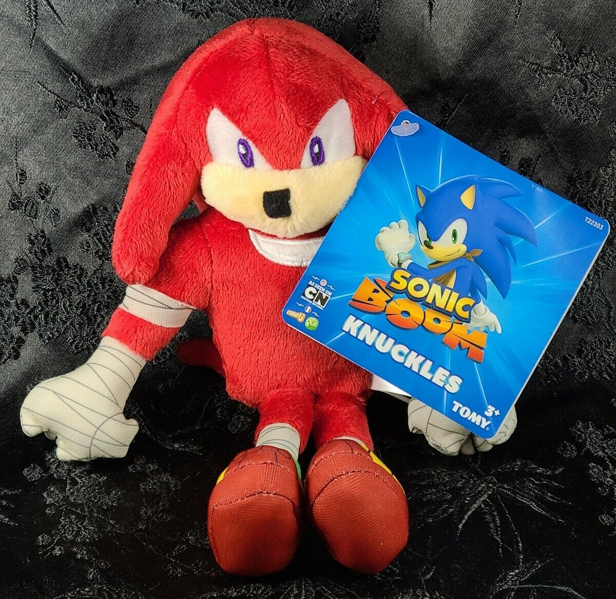 9 Tomy Plush Knuckles A Sonic The Hedgehog Sonic Boom Stuffed Animal Toy C Sega For Sale Online