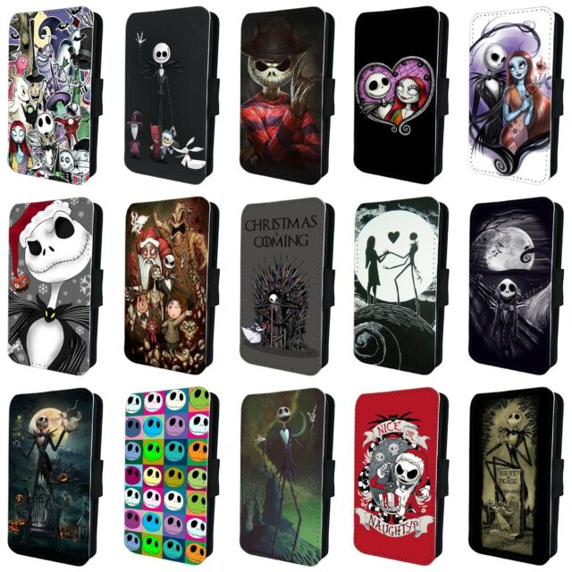 Nightmare Before Christmas Phone Case.Nightmare Before Christmas Flip Phone Case Cover For Samsung Galaxy S6 S7 S8 S9