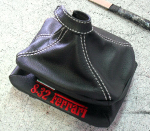 Lancia Thema Ferrari 8.32 Shift Boot Specification Real Leather