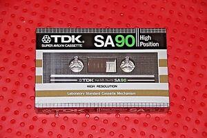 SEALED TDK  SA   90    VS X    BLANK CASSETTE TAPE 1