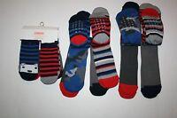 Gymboree 6 Days Of The Week Socks 6 Pairs Shoe Size 12 24m Bear Camo Boy