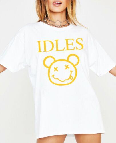 Women Ladies Oversized T-shirt Baggy Top Music Inspired Girls Viral VSCO GIRLS