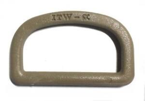 4-U-Anilla-D-Ring-40-mm-Tan-ITW-Nexus-fijacion-material-equipo-militar-correa