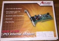 Factory Sealed. Air Link Communication Pci Internal Modem 56k V.92 Aml001
