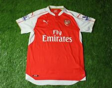 ARSENAL LONDON 2015 2016 FOOTBALL SOCCER SHIRT JERSEY HOME PUMA ORIGINAL  SIZE L 33be8d3a9