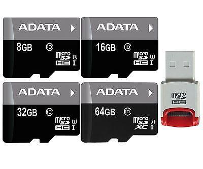 8GB 16GB 32GB 64GB Adata micro SD SDHC SDXC Memory Card Class 10 Phone Wholesale