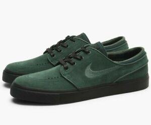2e221ea098 Nike Zoom Stefan Janoski Skate Boarding Mens SB Shoes Green 333824 ...