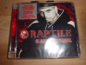 RAPTILE Classic Material Hip Hop 2 CD, 25 Tracks + Videos + Comic, NEU+foliert!