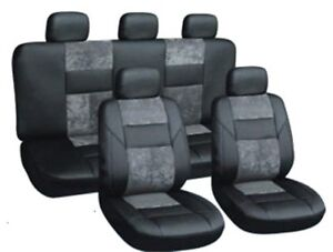 Autositzbezüge Skoda Kodiaq 16-5-Sitze Grau PKW Sitzbezüge Sitzbezug Schonbezug