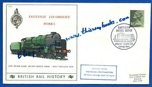 Railway-Postal-Cover-039-Eastleigh-Diesel-Depot-039-Open-Day-5th-May-1974-BR-Series-11