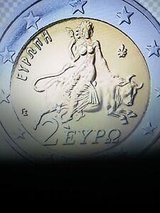 2 Euro Kursmünze Griechenland aus KMS 2021