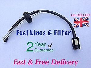 CHAINSAW-Fuel-Pipes-With-Tank-Filter-Assembly-amp-20mm-Grommet-UK-SELLER