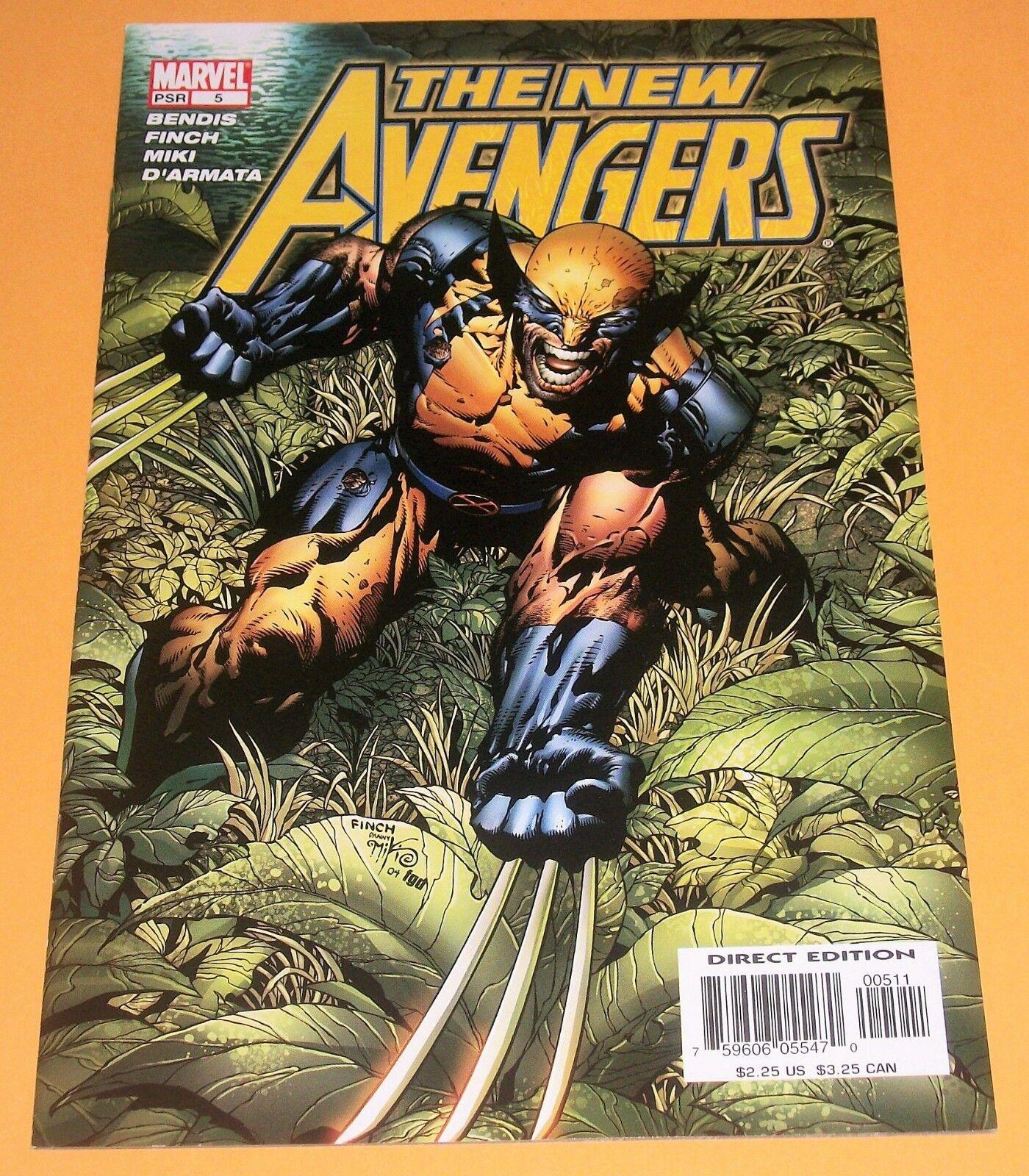 2005 Series #10 October 2005 Marvel NM 9.2 The New Avengers
