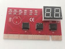 PCI Mainboard Test Post Analyzer Reparatur Debug Diagnose Karte Card für PC