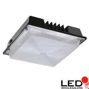 80 Watt Led Outdoor Canopy Ceiling Light Fixture R2 Ul