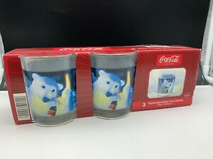 Coca-Cola-3-Glaser-Never-Used-Top-Zustand