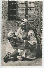 CARTE POSTALE / POSTCARD / ALGERIE / MAURESQUE ET SON ENFANT  / NU / NUE