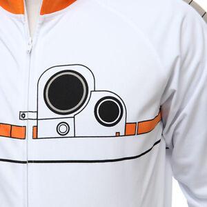 MEN'S Star Wars BB-8 Track Jacket Official Merchandise New W Tags Size 2XL XXL