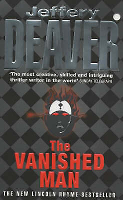 The Vanished Man by Jeffery Deaver - paperback