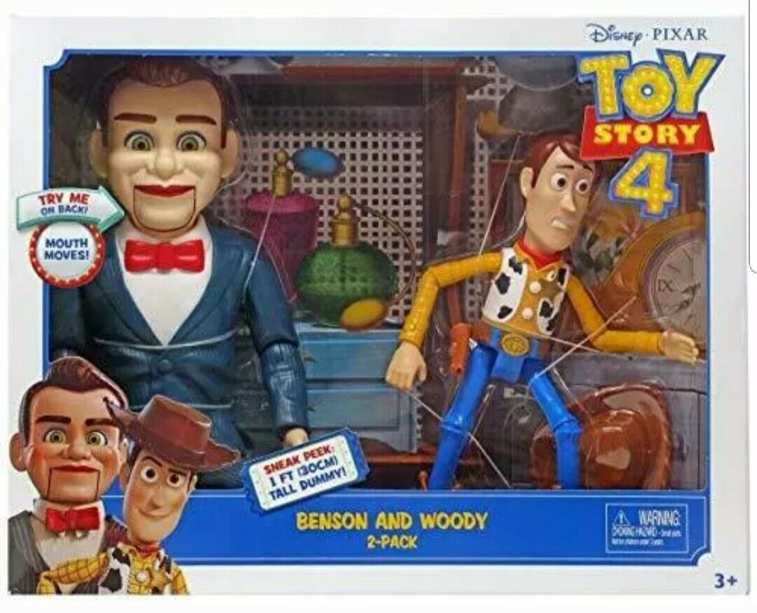 Toy story 4 figure boisy  and benson the puppet ventriloquist and boisy rare  limite acheter