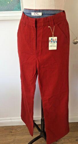 Seasalt Westmoor Trousers UK10 EU38 Sales Sample SAVE!! Paprika