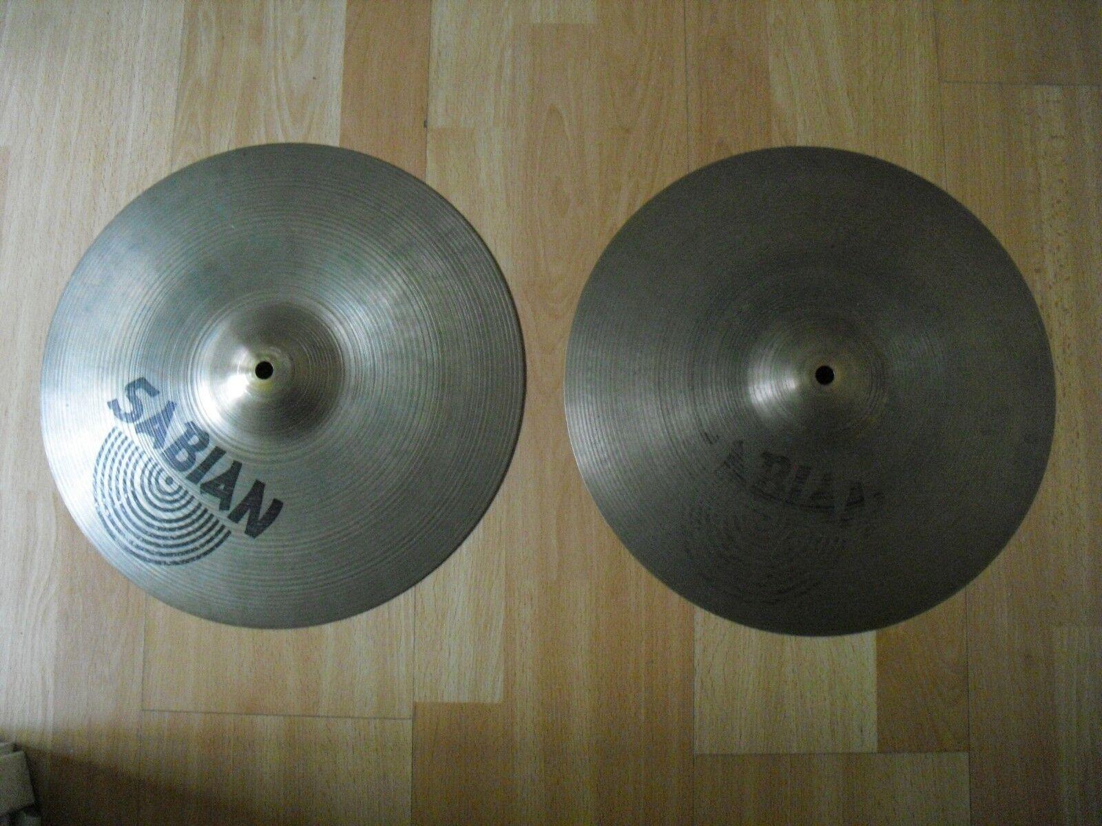 14  Sabian AA Regular HiHats Hi Hats Cymbals Traditional Finish