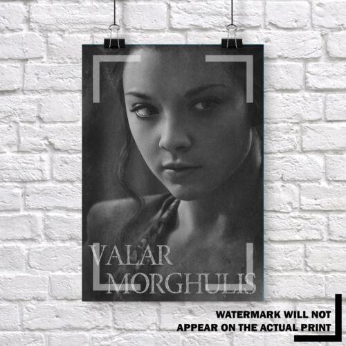 GAME OF THRONES POSTERS PRINTS Buy 1 Valar Morghulis Set Get 2 FREE
