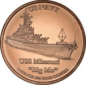 1-oz-Copper-Round-USS-Missouri