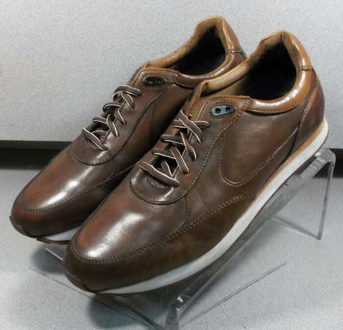 271200 PF50 para hombres zapatos talla 8.5 M Marrón Cuero Johnston & Murphy 1850 Series