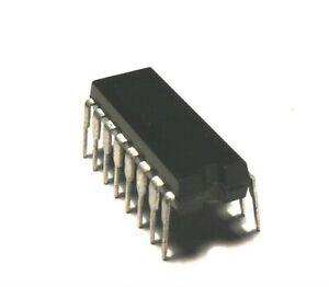 2 x CD4014 Registre a decalage 8 bits