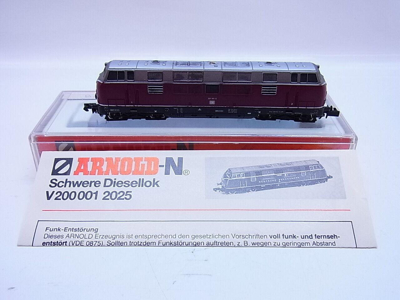 58797   Arnold 221 151-2 Diesellok BR 221 151-0 für Spur N in Ersatzbox