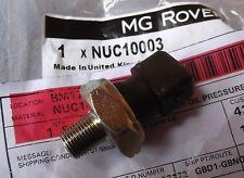 Genuine MG F TF ZR ZS ZT Rover 25 45 75 Oil Pressure Switch Fine Thread NUC10003