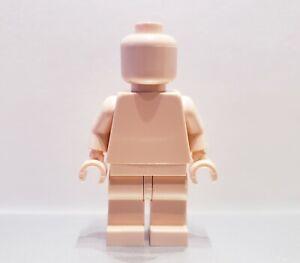 Lego-MONOFIG-PLAIN-LIGHT-NOUGAT-FLESH-MONOCHROME-MINIFIG-NEW