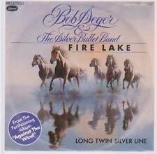 "7"" Bob Seger & The The Silver Bullet Band Fire Lake 80`s EMI Capitol"