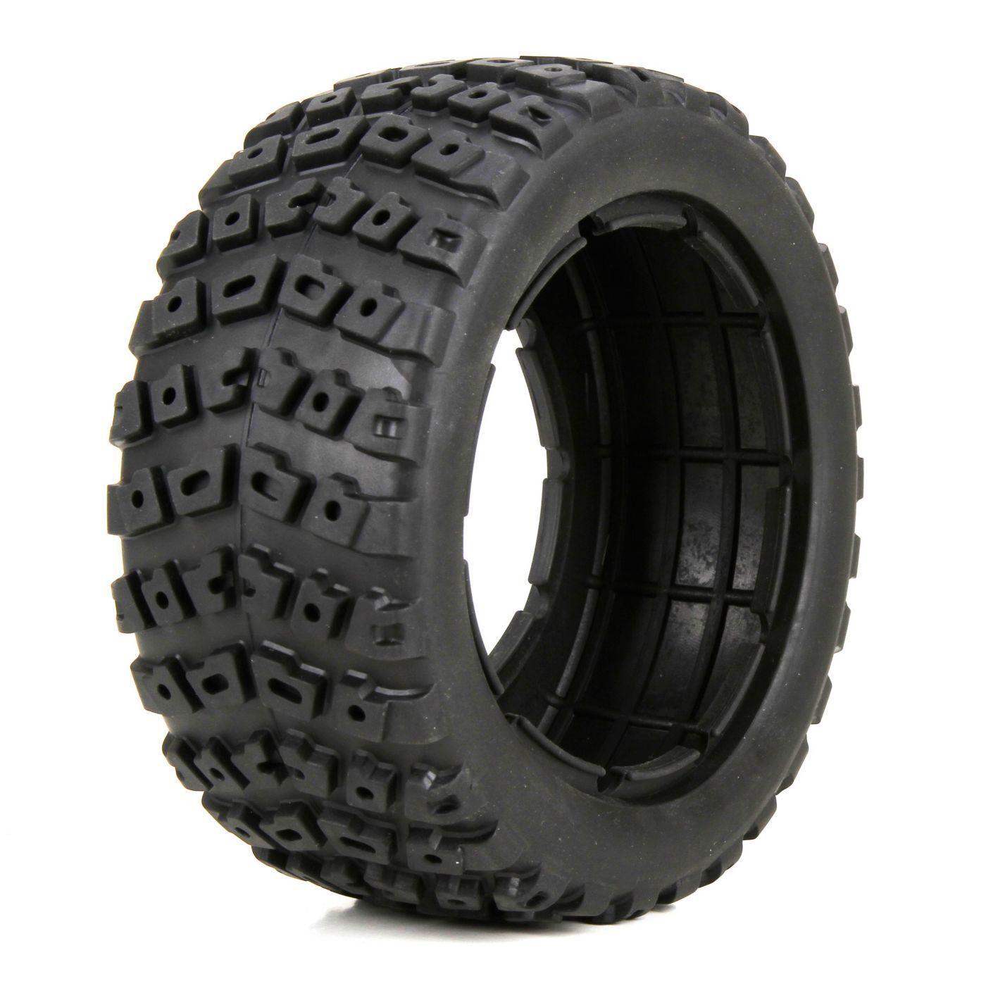 Losi Racing LOS45006 Left&Right Tire(1ea)&Foam Insert(2) 1 5 4wd DB XL