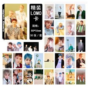 30pcs-set-KPOP-EXO-CBX-Blooming-Days-Photo-Card-Poster-Lomo-Cards-Bookmark