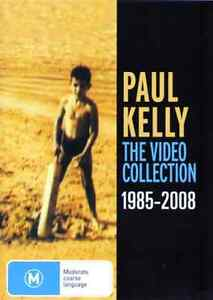 PAUL-KELLY-The-Video-Collection-1985-2008-DVD-BRAND-NEW-PAL-Region-0