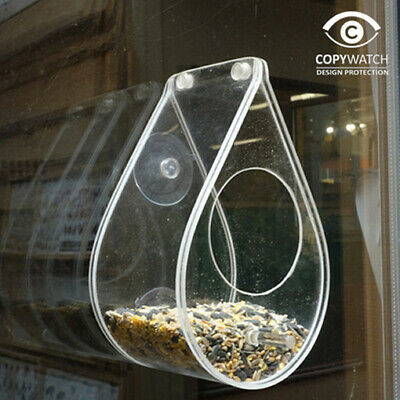 Feed the birds! Clear Window or Hanging Feeder  Watch the bird feed this winter!  | eBay
