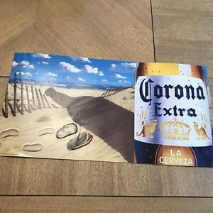 "Corona Extra Beer Beach Metal 23"" x 12"" Sign A3775 | eBay"
