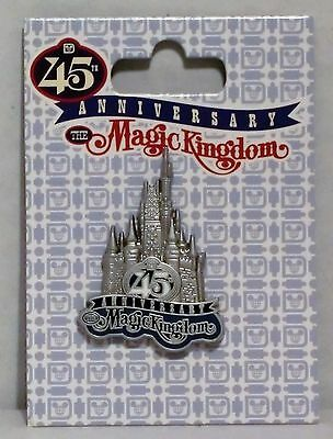 WDW 45th Anniversary Magic Kingdom Cinderella/'s Castle Disney Pin 118368