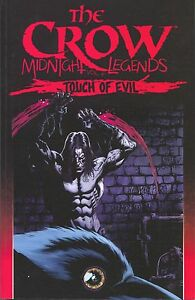 Crow-Midnight-Legends-Touch-of-Evil-6-TPB-IDW-2014-NM-1st-Print-5-6-7-8-9-10